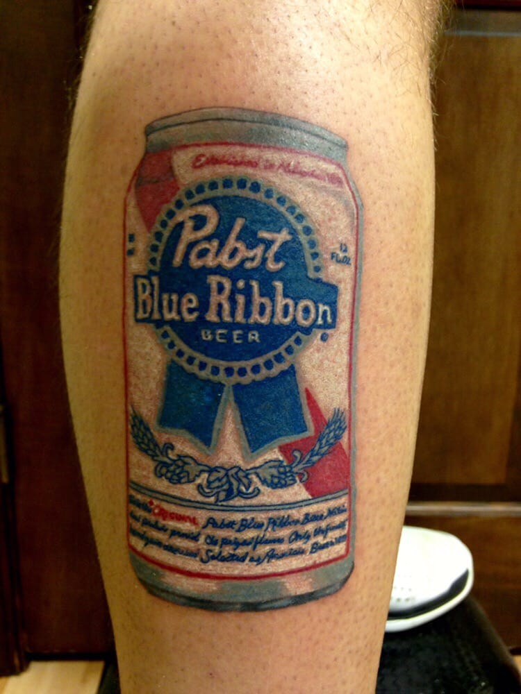 Beer city tattoo pictures to pin on pinterest tattooskid for Budweiser logo tattoos