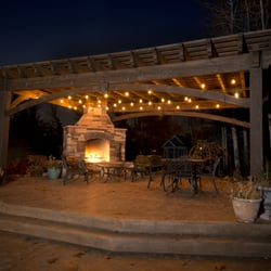 photo of western timber frame lehi ut united states heavy timber pergola