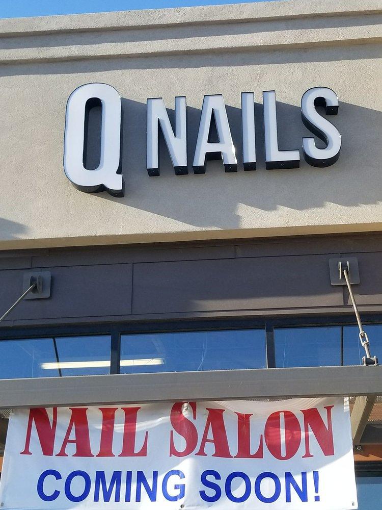 Q NAILS: 11231 E Commercial Center Lp, Yuma, AZ