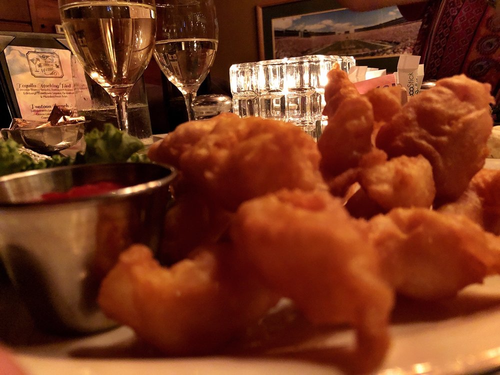 Pinewood Supper Club: 1208 Half Moon Lake Dr, Mosinee, WI