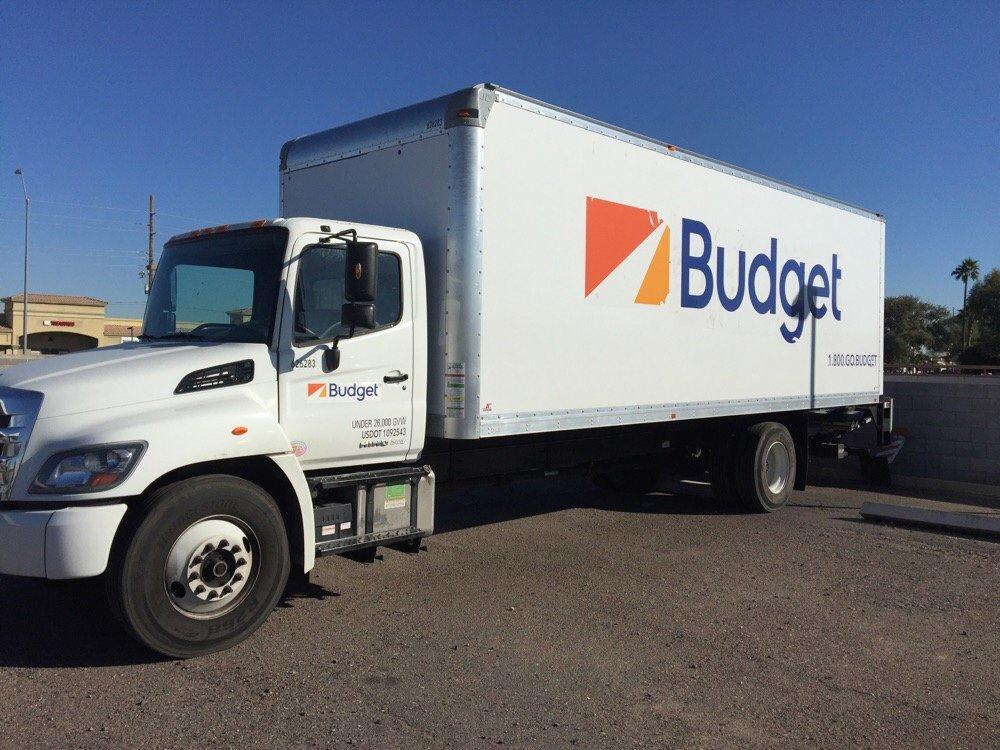 budget truck rental location de voiture 205 e van buren st avondale az tats unis. Black Bedroom Furniture Sets. Home Design Ideas