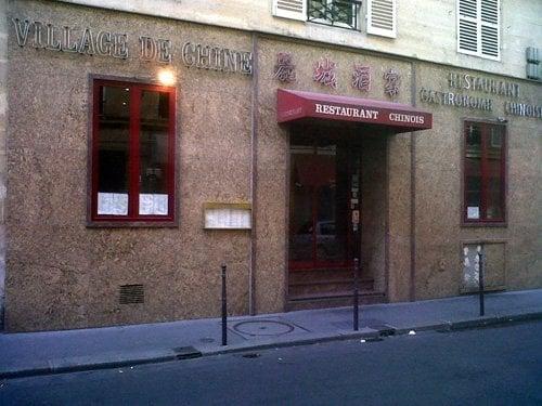 Le village de chine chinese 8 rue mont thabor place vend me paris fran - Village de chine le mans ...
