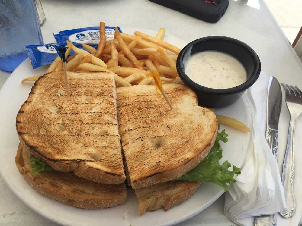 Aninimal Book: Tuna sandwich with fries and a side of ranch! - Yelp