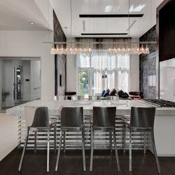 Elegant Dining Room Dallas Tx Apartments 2660 At Cityplace