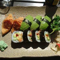 vegetarisk sushi stockholm