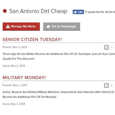 64394376f299c Dirt Cheap 5538 Walzem Rd Windcrest, TX Clothes Posts - MapQuest