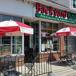 Amazing Photo Of Backyard Grill   Kenilworth, NJ, United States. Outdoor Seating! Part 24