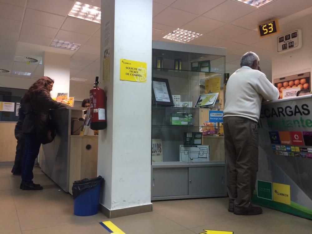 Correos oficinas de correos calle general barroso 19 for Oficina del consumidor valencia telefono
