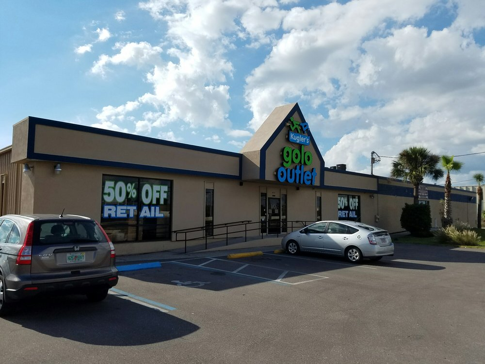 Kugler's Golo Outlet: 15232 US Hwy 19 N, Clearwater, FL