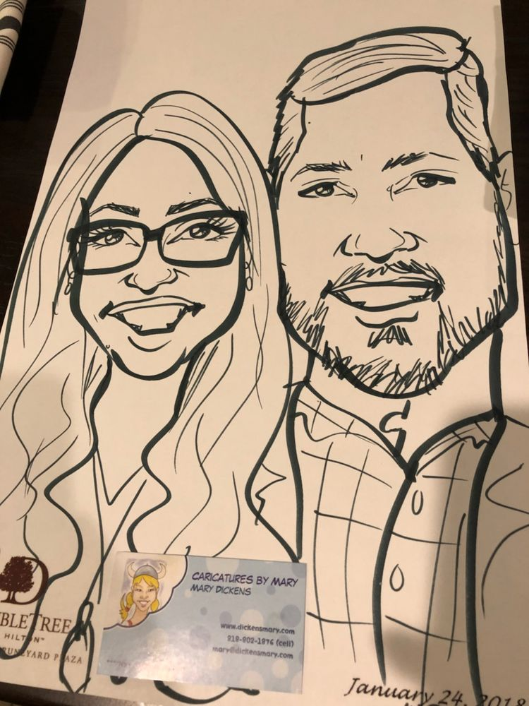 Caricatures by Mary: San Jose, CA