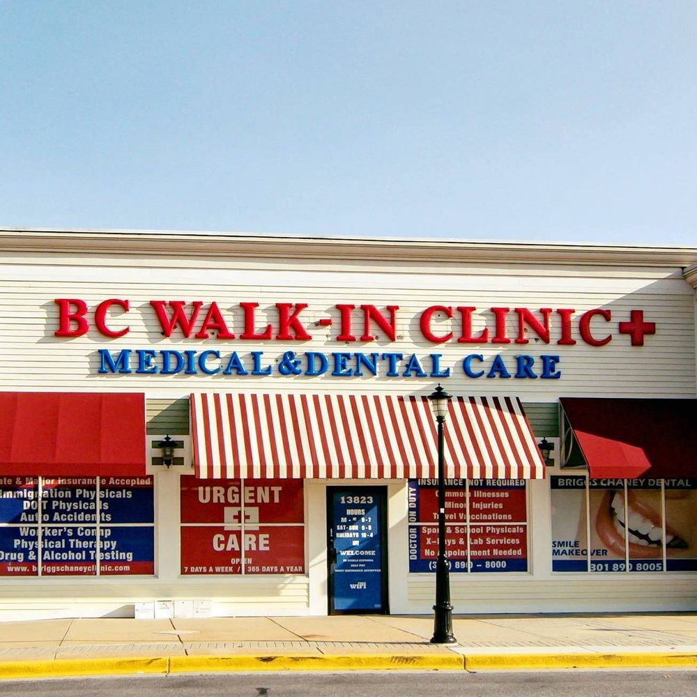 BC Walk-In Clinic: 13823 Outlet Dr, Silver Spring, MD