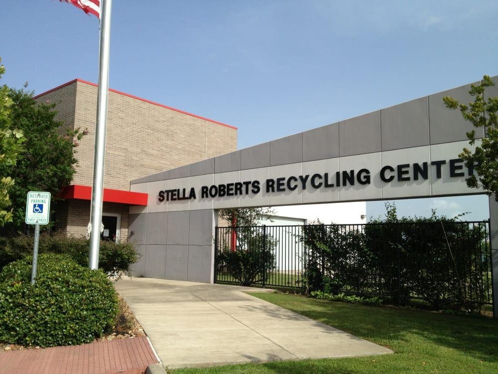 Stella Roberts Recycling Center: 5800 Magnolia Pkwy, Pearland, TX
