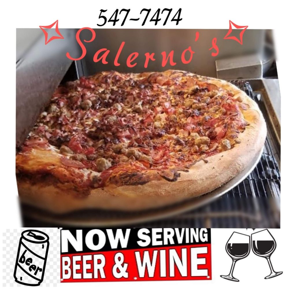Salerno's Pizzeria: 5029 N Hwy 61, Perryville, MO