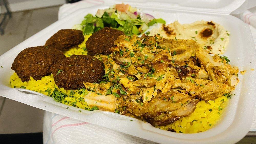 Mazza Falafel: 365 Essex St, Hackensack, NJ