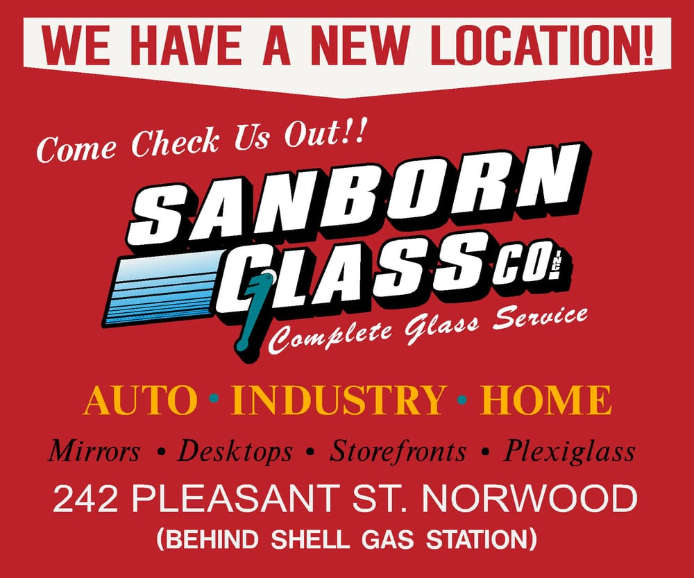 Sanborn glass installazione porte e finestre 242 for Central motors norwood ma