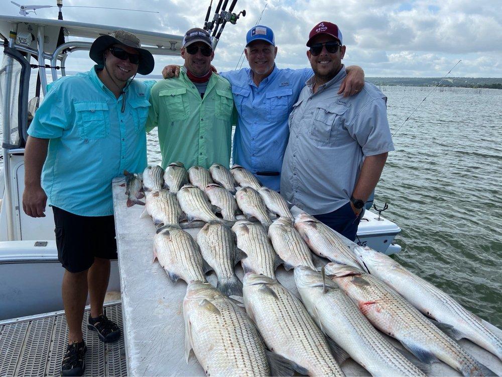 Bosstriper Fishing Guide Service: 3100 Ranch Rd, Buchanan Dam, TX