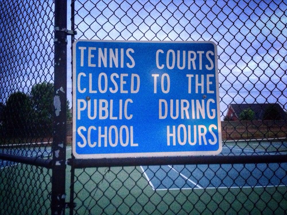 Monrovia Tennis Courts: 1216 Jeff Rd NW, Huntsville, AL