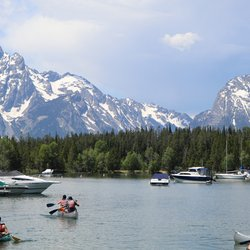 Photo of Colter Bay Village and Marina - Moran WY United States. Colter ... : colter bay tent village - memphite.com