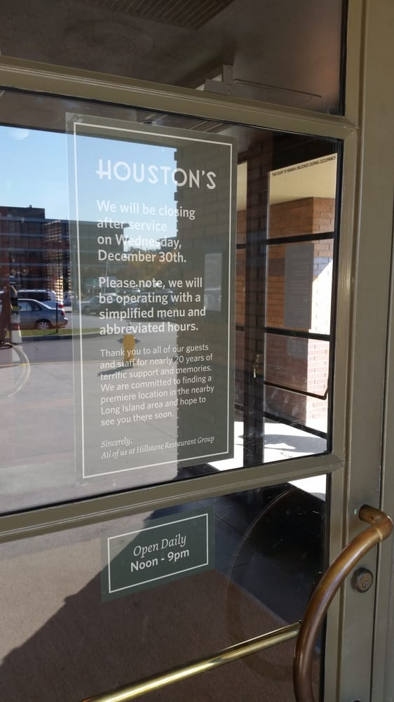 Houston S Restaurant Closed 271 Photos 256 Reviews American New Roosevelt Field Mall