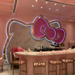 Photo of Hello Kitty Grand Cafe - Irvine CA United States. The bar & Hello Kitty Grand Cafe - 1006 Photos \u0026 191 Reviews - Cafes - 860 ...