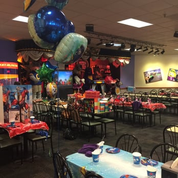 7 items · From Business: Chuck E. Cheese's features games, rides, prizes, food and fun for kids of all ages. It's a great place to take the family for everyday play, birthdays, fundraiser.