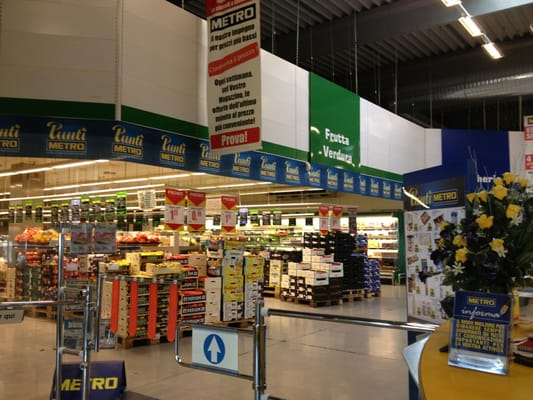 metro italia cash and carry via milano snc baranzate