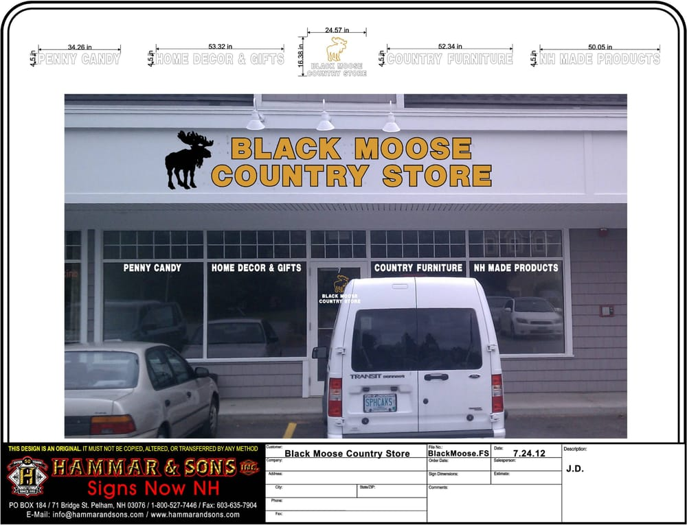 Black Moose Country Store: 4 Cobbetts Pond Rd, Windham, NH