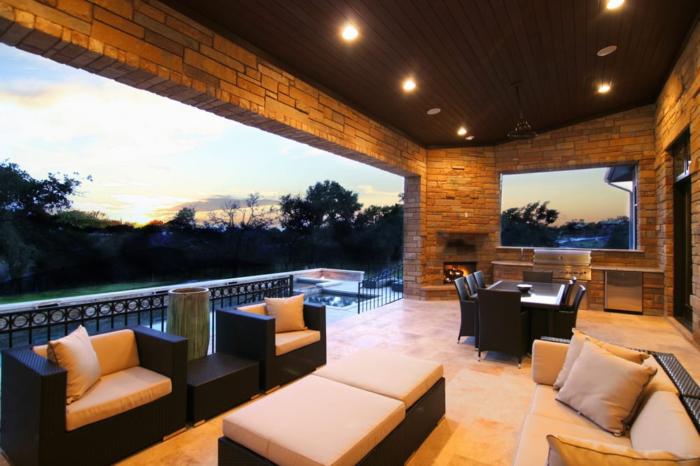 Outdoor Living Hill Country Modern By Zbranek Amp Holt