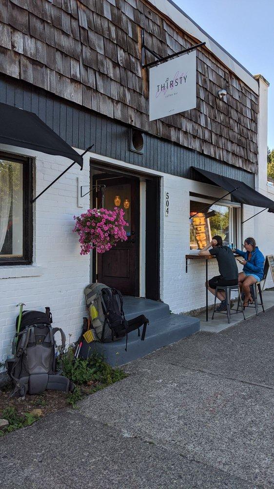 Thirsty Cafe: 504 WaNaPa St, Cascade Locks, OR