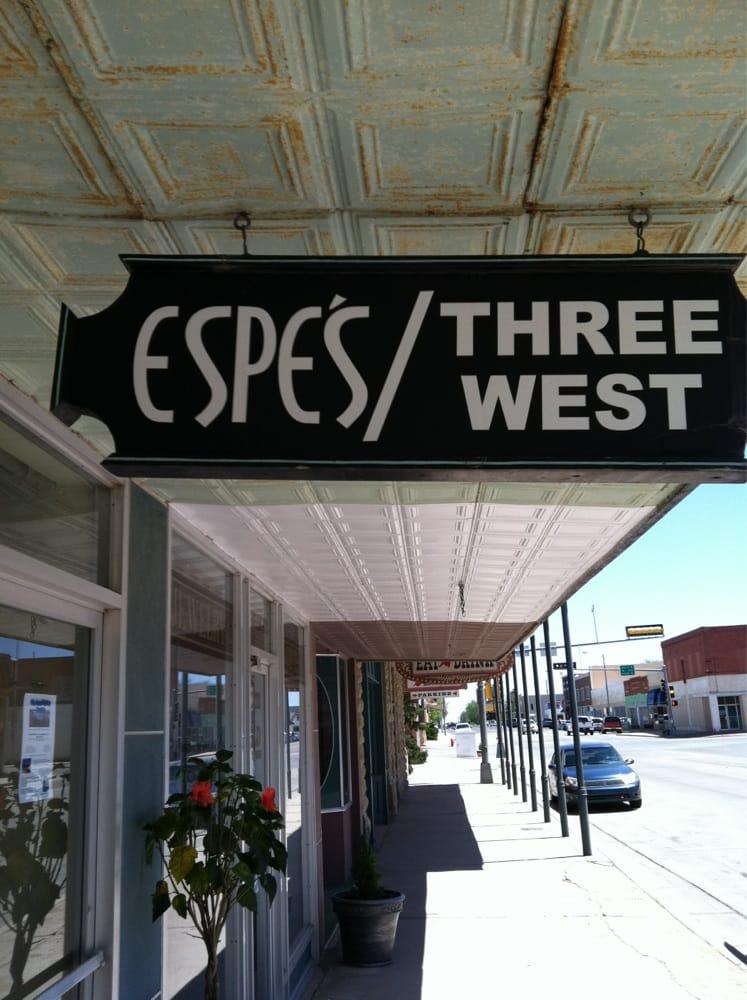 Espe's Three West: 9 Main St, Clayton, NM
