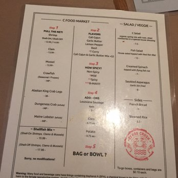 Food Crush San Mateo Menu