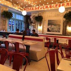 Photo Of Pizza Beach New York Ny United States
