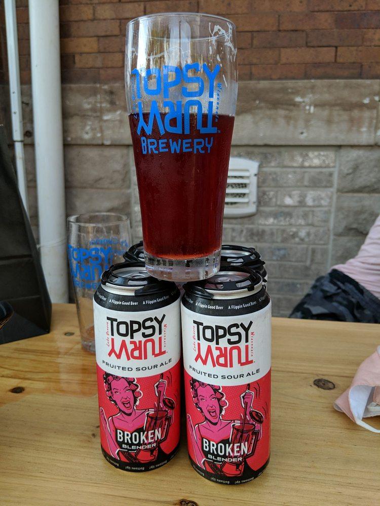Topsy Turvy Brewery: 727 Geneva St, Lake Geneva, WI