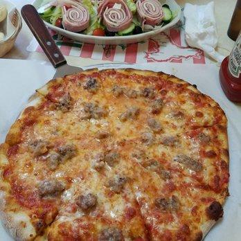 Big odessa pizza sausage