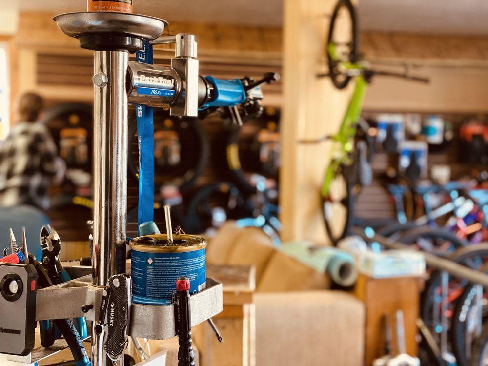Eddy's Bicycle Barn: 69 E Main St, American Fork, UT