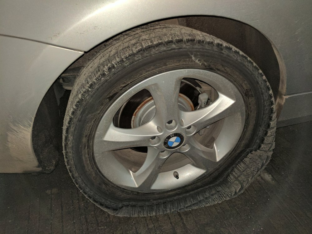 My experience at Pep Boys Sparks was a nightmare from start to finish. I brought my BMW to Pep Boys to replace my summer tires with 4 brand new Michelin Ice snow tires. The