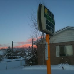 Photo Of Skyline Motel Fairview Ut United States Sunset