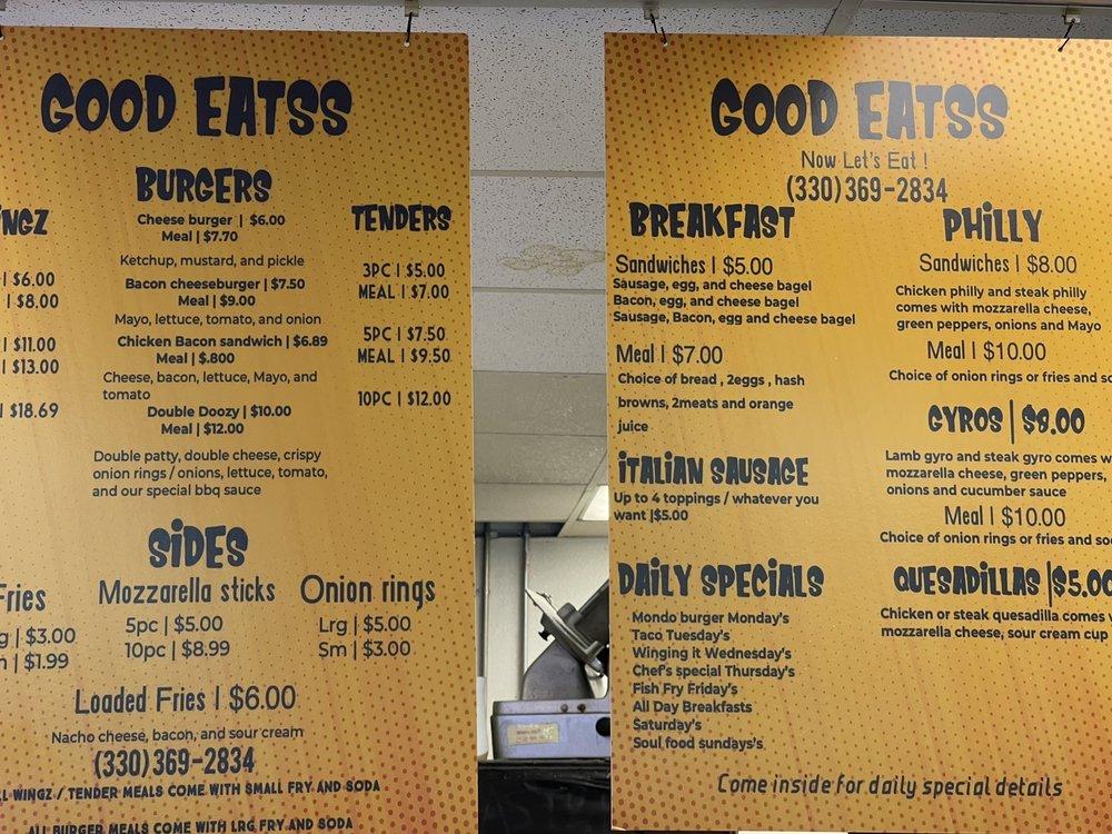Good Eatss: 1708 Youngstown Rd SE, Warren, OH