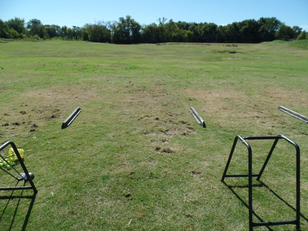 Driving Range At Kings Creek It Will Flood After A Really