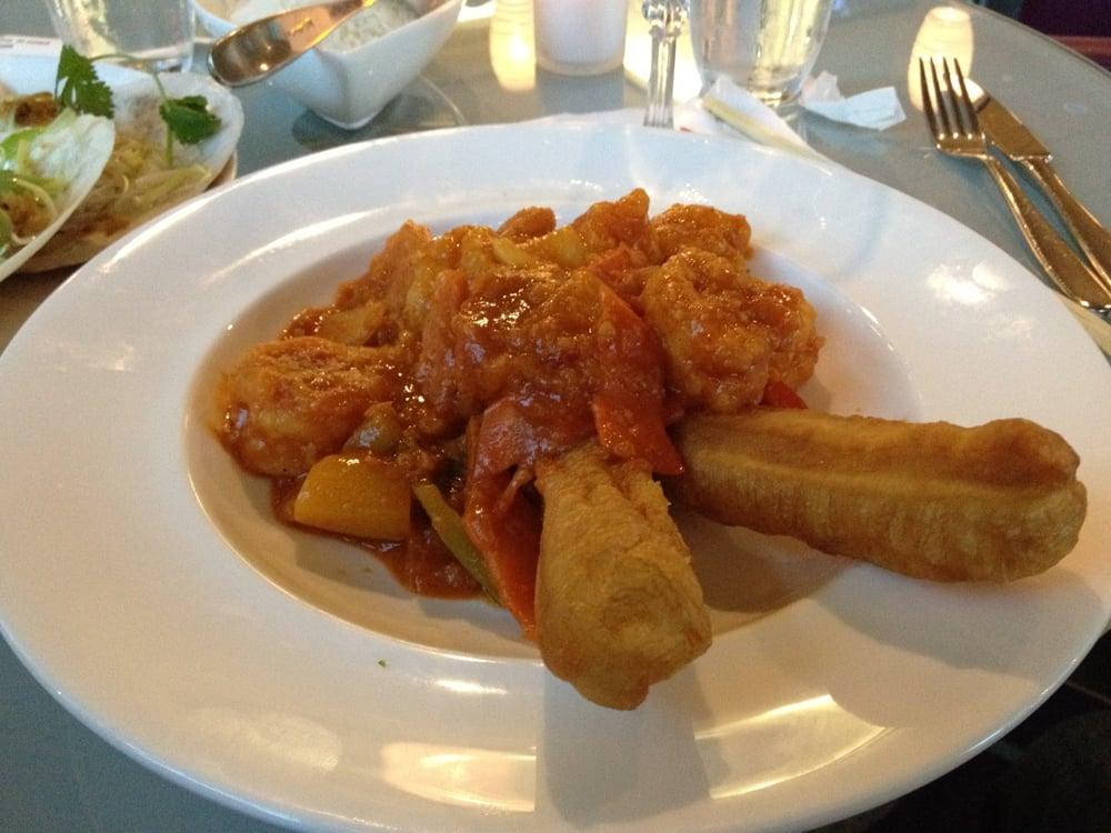 Singapore Chili Prawns with Chinese Buns - Yelp