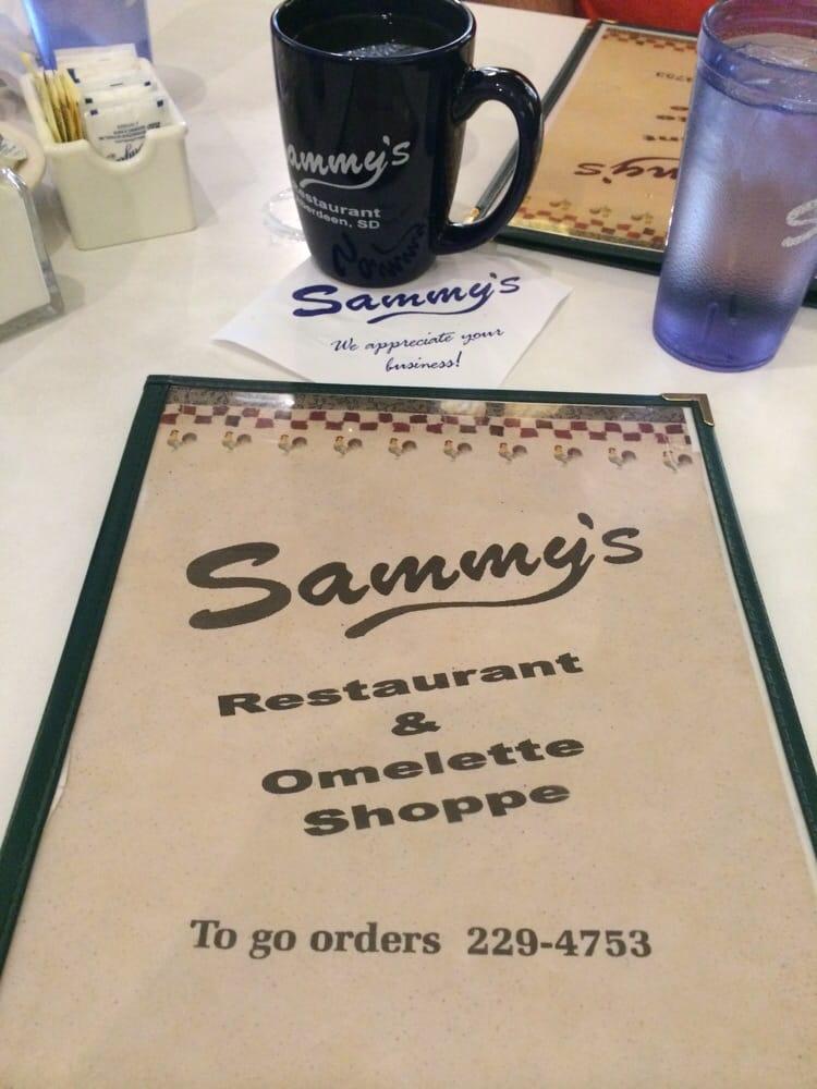 Sammy's Restaurant & Omlette Shop: 212 S Main St, Aberdeen, SD