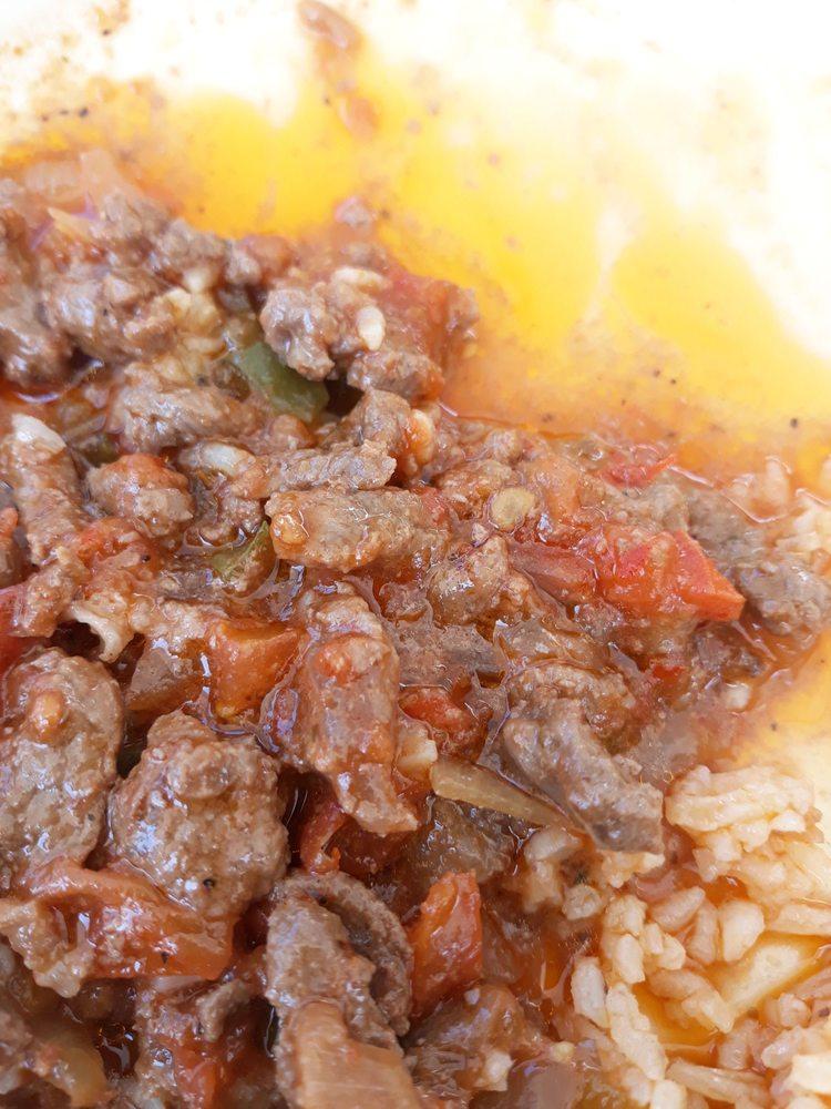 Food from Cafe Las Pupusas Dining & Brews