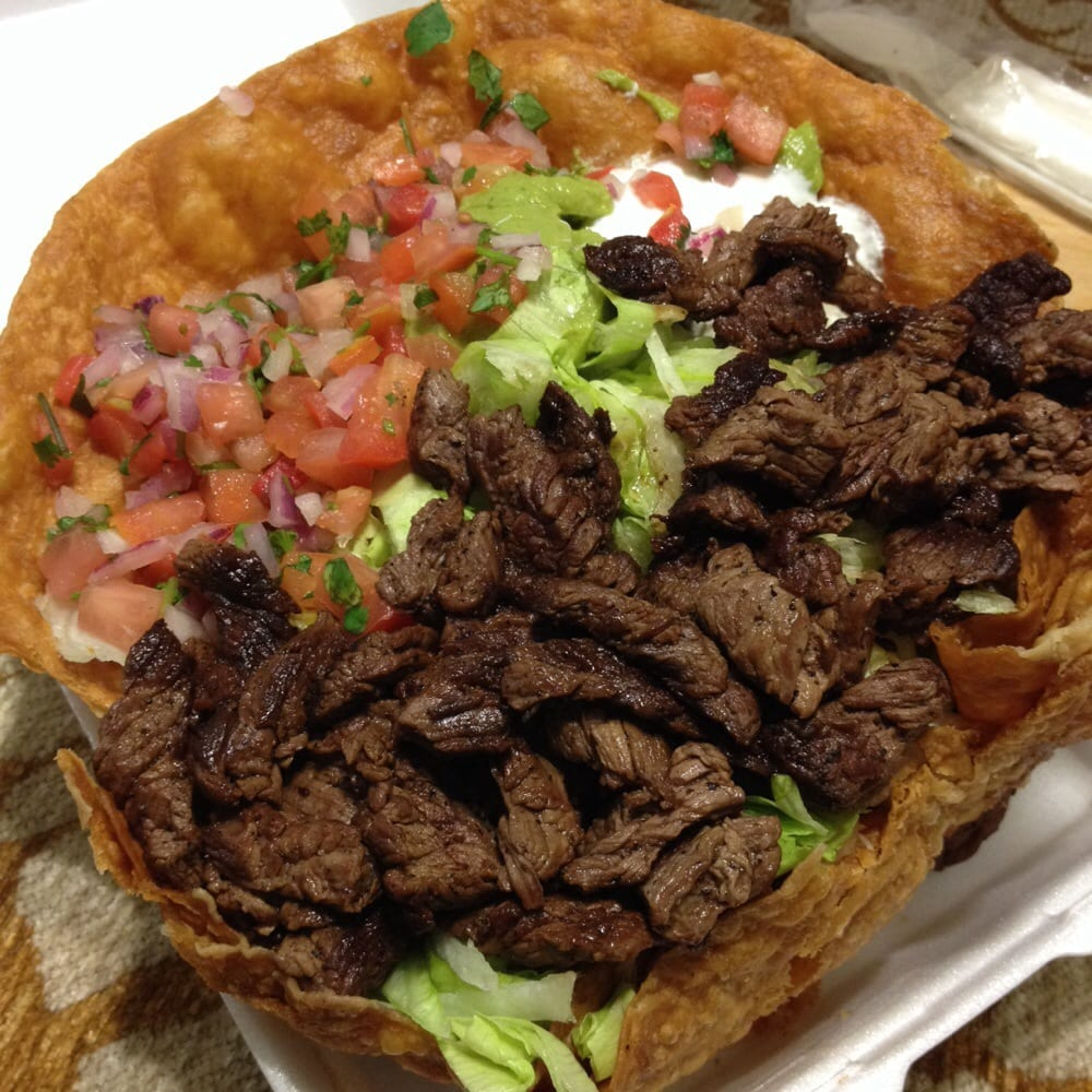 Steak tostada salad - Yelp