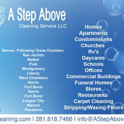 A Step Above Cleaning Services - Home Cleaning - Second Ward ...