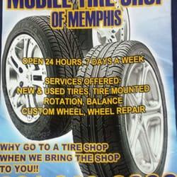 Mobile Tire Shop Of Memphis Tires 5505 Summer Ave Memphis Tn