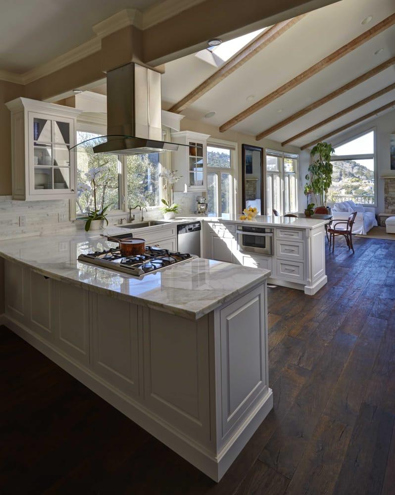 A Kitchen Designed By Santa Cruz Kitchen Bath Yelp