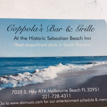 Sebastian Beach Inn Melbourne Beach Fl
