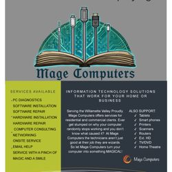 Mage Brochure | Mage Computers It Services Computer Repair Salem Or Phone