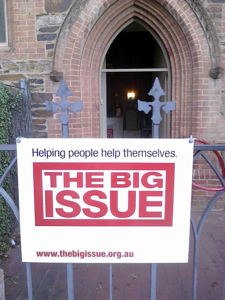 Big issue vrijwilligerswerk non profit 237 north for 237 adelaide terrace