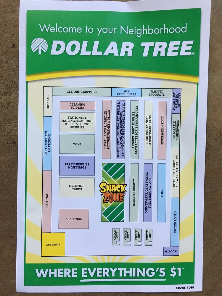 This Dollar Tree even has a map! - Yelp on